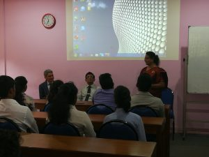 External examiner's visit to Department of Estate Management and