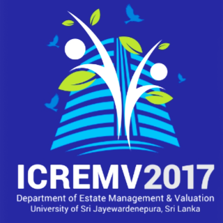 International Conference on Real Estate Management and Valuation (ICREMV) 2017