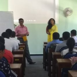 """A guest lecture on """"Gender, Role of Women in Society,"""""""
