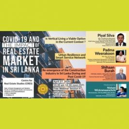 Webinar on COVID 19 and Real Estate Market – Session II