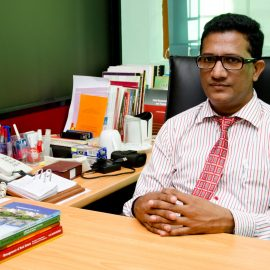 Congratulations to Senior Professor R G Ariyawansa on being promoted as Professor (Chair) of Estate Management and Valuation