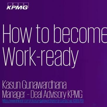 Talk to Mind: How to Become Work Ready: Webinar