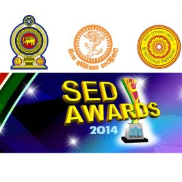 We were awarded in the 'SED Awards 2014′