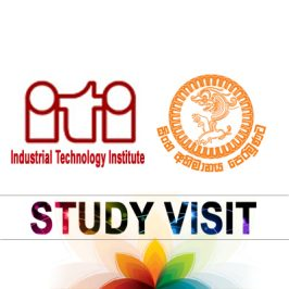 Students of the DoE Visited ITI
