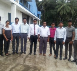 Study Visit to Texpro Industries (Pvt) Ltd