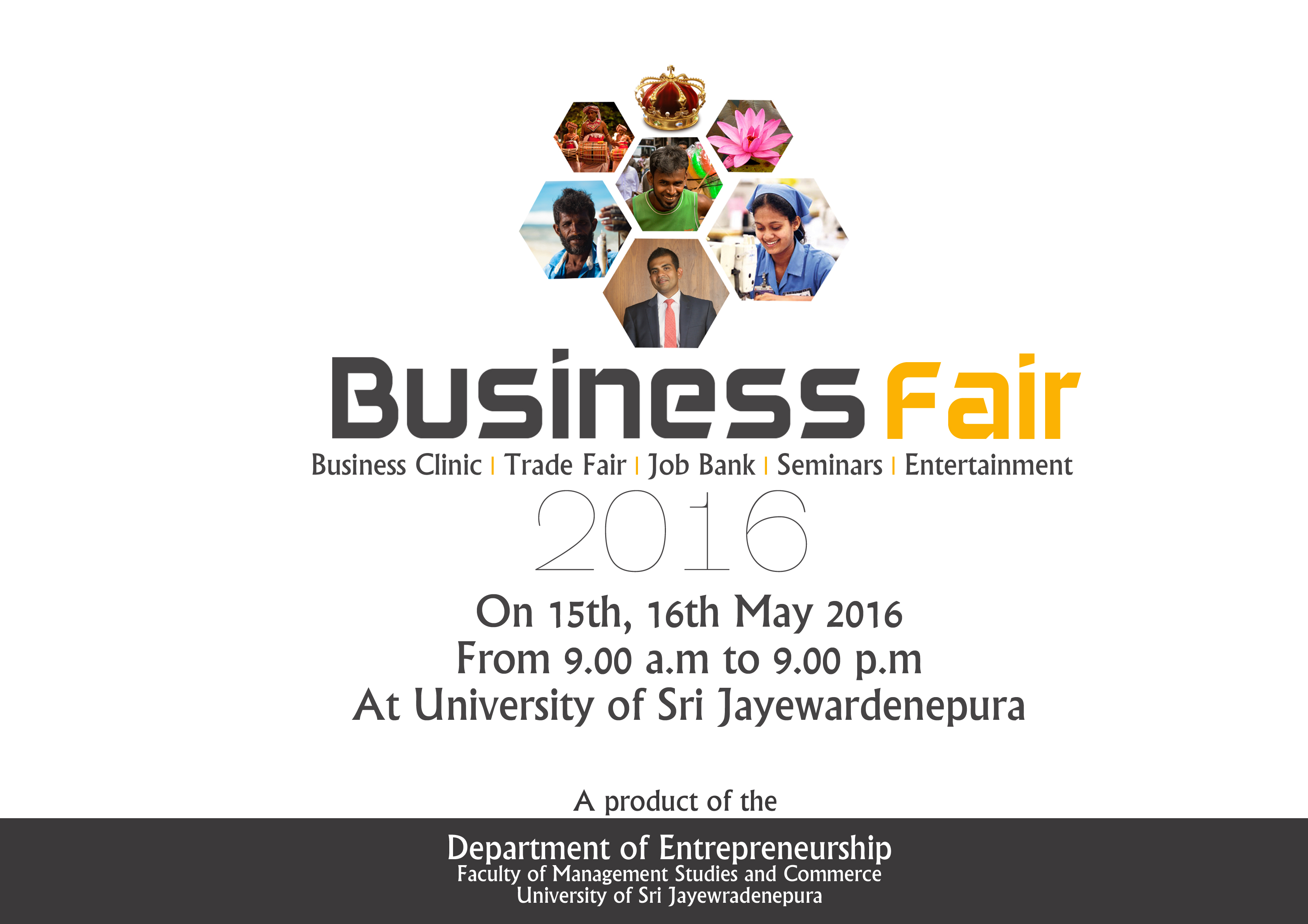 Business Fair Poster copy Department of Entrepreneurship : Business Fair Poster copy from mgt.sjp.ac.lk size 3508 x 2480 jpeg 1327kB