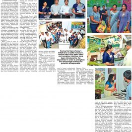 Innovators Day article in Daily News
