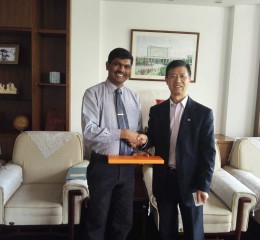 A Study Visit to Republic of China from 8th April to 18th April, 2016