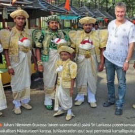 Articles regarding Sri Lanka have been published in Finland!