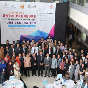 5th UNESCO- APEID Meeting on Entrepreneurship Education: Transforming Entrepreneurs for Sustainable Businesses and Job Generation