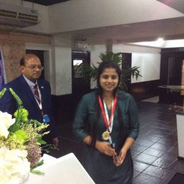 Ms.SHANIKA PERERA RECEIVES THE EXCELLENT PAPER AWARD IN THAILAND