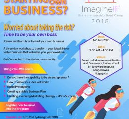 ImagineIF Entrepreneurship Boot Camp 2018