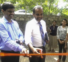 Chathurani Senarath, A Graduate Student Of The Department Of Enterprenuership Opened A New Juice Hut At The University Premises