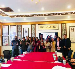 Ten Students of FMSC Statured Chinese Language Training Program in People's Republic of China