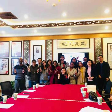 Ten Students of FMSC Statured Chinese Language Training Program in Republic of China