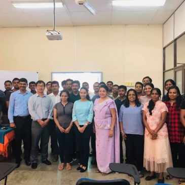 Guest Lecture on 'Chinese Reforms & Development and Potential for Zijiang -Sri Lanka Business Cooperation'