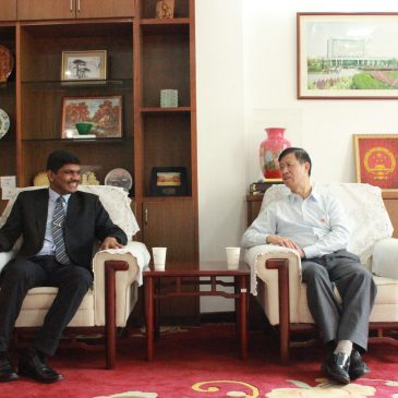 Visit to Chongqing Jiaotong University and Zhejian Shuren University