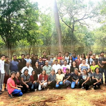 Outbound Training at Wilpattuwa Wild Life Sanctuary