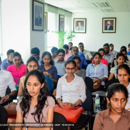 Field Visit to SEC, CSE and LOLC Securities