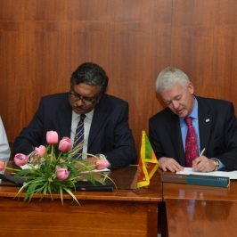 MoU between the Department of Finance and Chartered Institute for Securities and Investments – (CISI)