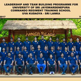 """Participated Outbound Training (OBT) program on """"Leadership and Team Building"""" by the Postgraduate Students and staff of the Applied Finance Program"""