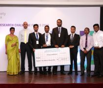 Department of Finance Won the CFA Sri Lanka Research Challenge 2018