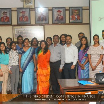 3rd Student Conference in Finance