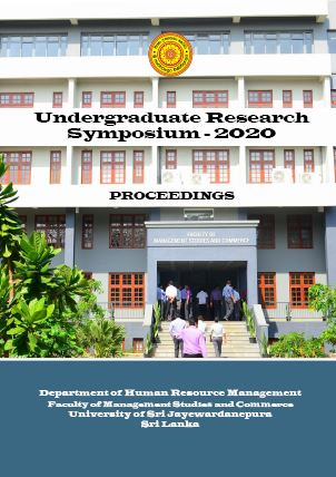 1st Undergraduate Research Symposium on Human Resource Management