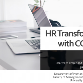 HR Transformation with COVID -19