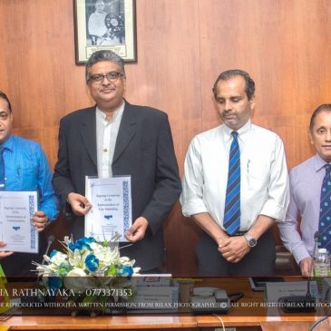 MOU Between, ICT Industry Skills Council and  the University of Sri Jayewardenepura