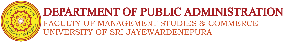 Department of Public Administration