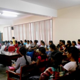 An orientation programme was conducted on 12th February 2016
