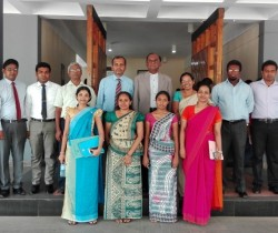 The inaugural ceremony of 12th intake of Diploma in Public Management
