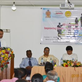 Workshop on Improving Productivity of the Public Sector through Ethics, Integrity and Spiritualism