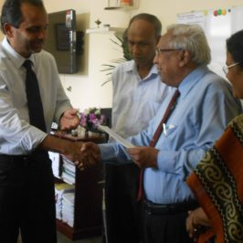 Donation by a reputed alumnus, Mr.Sarath De Silva
