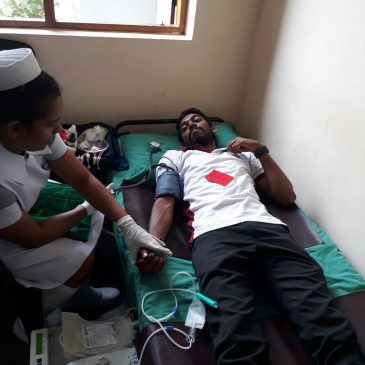 """Lohitha Puja -2017""  The Annual Blood Donation Campaign"