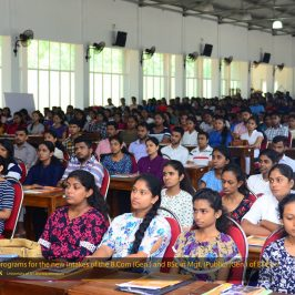 Orientation Programme 2018 – B.Sc. Management (Public) General (External) Degree