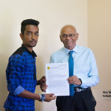 W A Wijewardena  Public Management (Merit) Scholarship