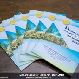 Undergraduate Research Day – Department of Public Administration