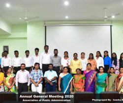 Annual General Meeting – Association of Public Administration (APA)