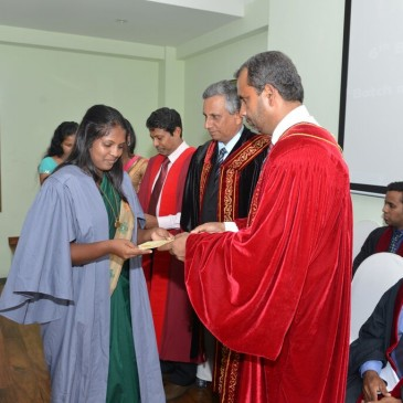 Awarding Ceremony of Diploma and Advanced Diploma in Computer Based Accounting – 2015