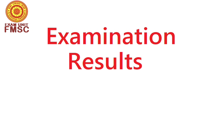 Issue of Detailed Results Sheets January 2015 Examination