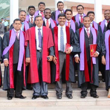 First Batch in Master of Entrepreneurship in Sri Lanka