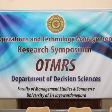 First OTM Research Symposium -2016