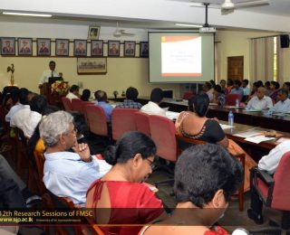 12th Research Sessions of FMSC