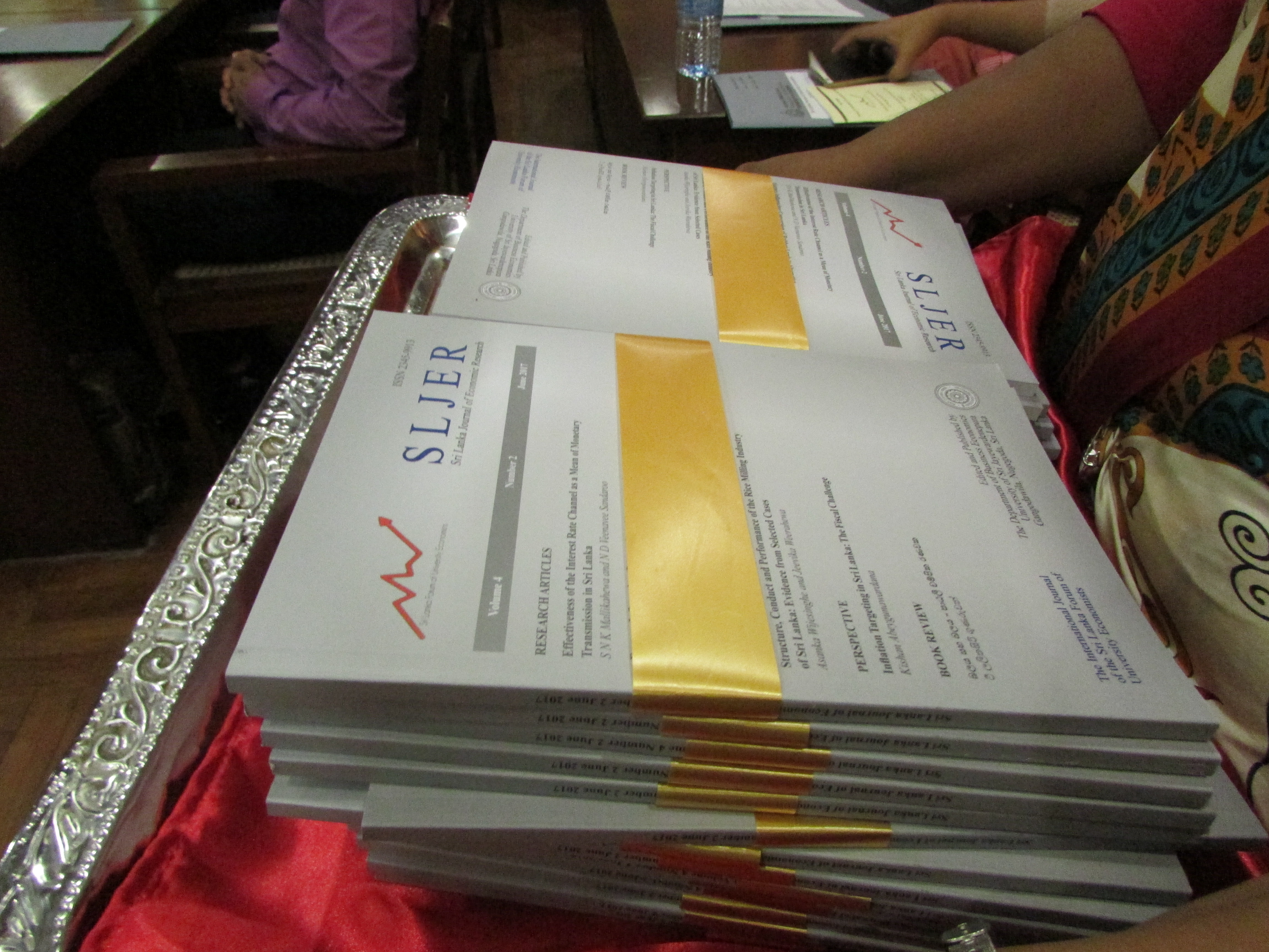 Launch of SLJER Volume 4 - Issue 2 - Faculty of Management Studies