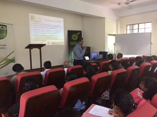 Awareness Session conducted by the BCS-SL on the NBQSA