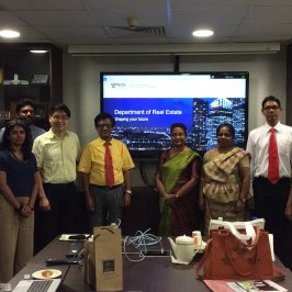 Academic staff of DEMV visits NUS