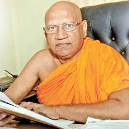 Demise of Most Ven. Prof. Bellanwila Wimalaratana Thero, Chancellor of USJP