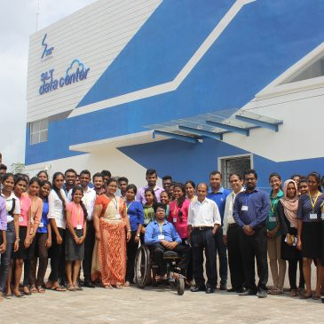 Field Visit to Sri Lanka Telecom Data Center